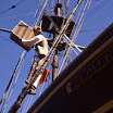 Actor aboard Brig Beaver- Boston Tea Party Museum