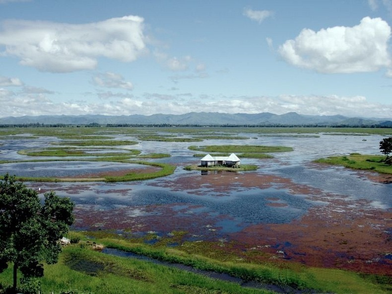 loktak lake Loktak lake is the largest freshwater lake in north -east india is famous for the phumdis (heterogeneous mass of vegetation, soil, and organic matters at various.