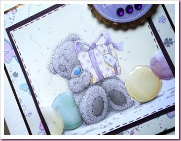 Tatty teddy Birthday Card
