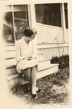 Aunt Meta Hanson 1929 DL Antiques