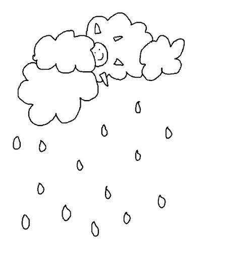 Dibujo Nubes Y Lluvia – AGCReWall