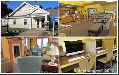 New Boston NH library