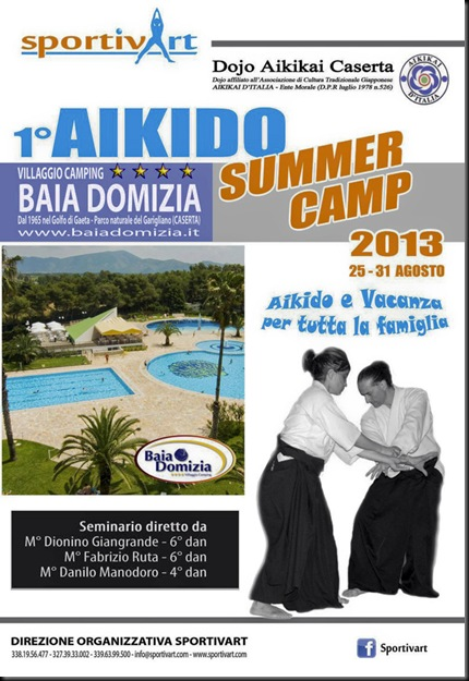 Bollettino - 1° Aikido Summer Camp 2013-1