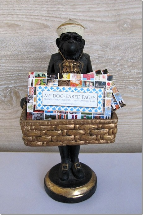 Charming Handmade Vintage Monkey Butler available at billy's bungalow!
