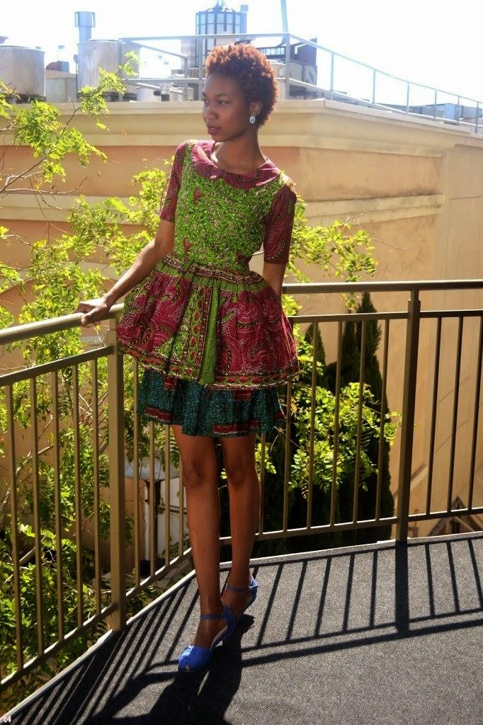 Original Post Found Here: African Kitenge Dresses Designs