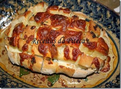 Pão de alho e cebola