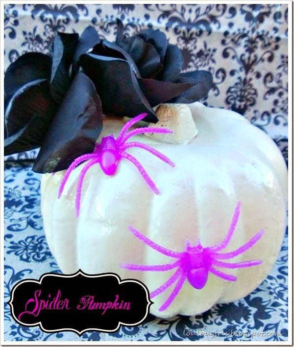 spider pumpkin