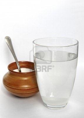 agua azucarada