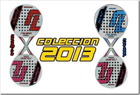 Rolenn Pádel nueva marca en el mercado. Comienza con 4 modelos en este 2013.