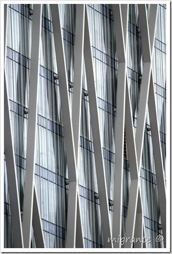torre diagonal cero - detalle - barcelona