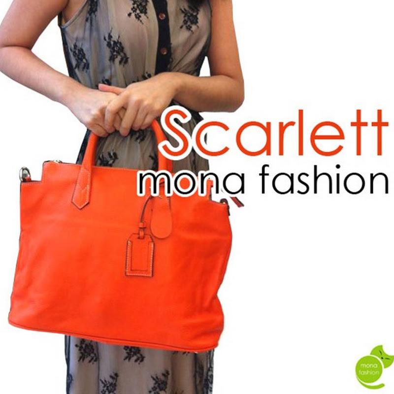 กระเป๋าหนังแท้ F0107 Scarlett