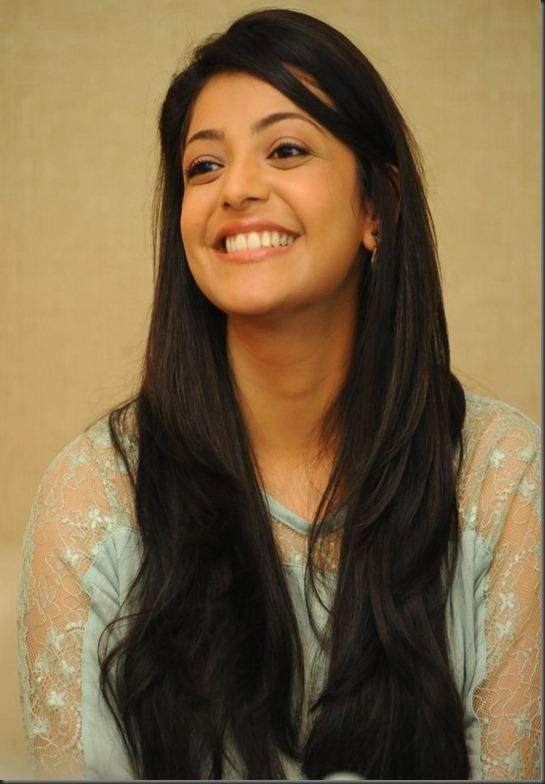 Actress Kajal New Cute Photos at Sir Vacharu Movie Interview