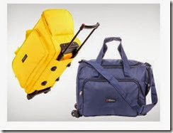 Buy Travel n Luggage 24? Bleu Trolley Bag At Rs. 999