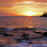 Sunrise at Artist Point / Grand Marais / Minnesota