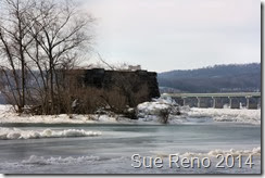 Ice on the Susquehanna River, 2/2014, by Sue Reno, Image 5