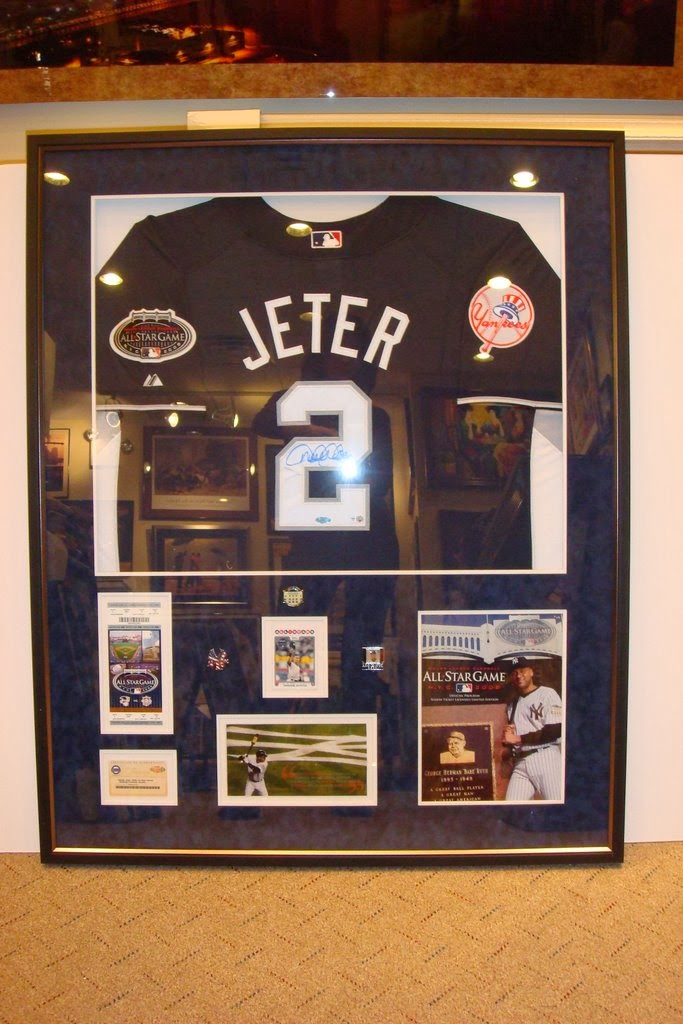 sports jersey picture frames in long island new york
