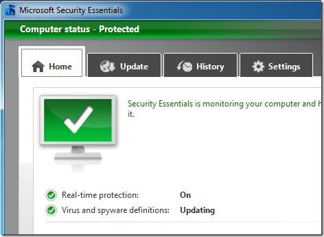 Windows Defender Manual Update Definitions