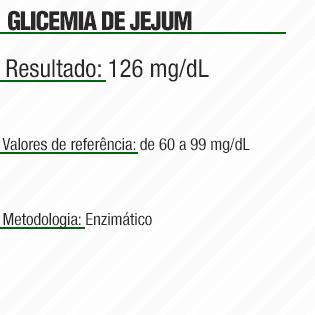 Glicemia de Jejum