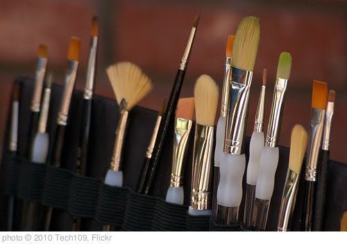 'Paint Brushes Close-Up' photo (c) 2010, Tech109 - license: http://creativecommons.org/licenses/by/2.0/