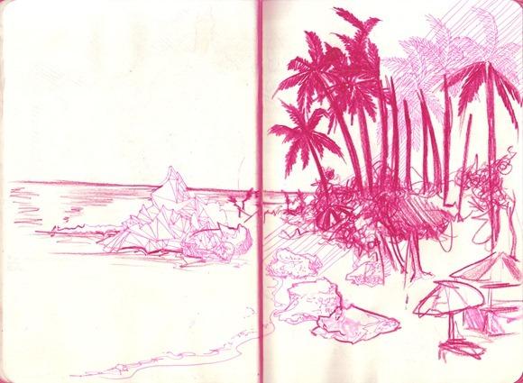 Sketch Bahia - Morro SP 3