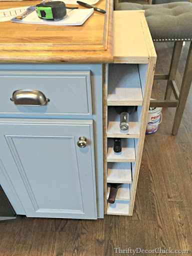 Charming ... Kitchen Cabinets Ideas 6 Inch Base Cabinet For Kitchen : February 2015  From Thrifty Decor Chick ...