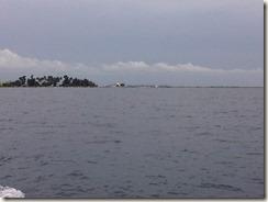 Pulau Tidung dari Kejauhan