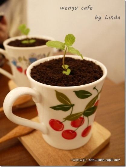溫古咖啡-盆栽奶茶