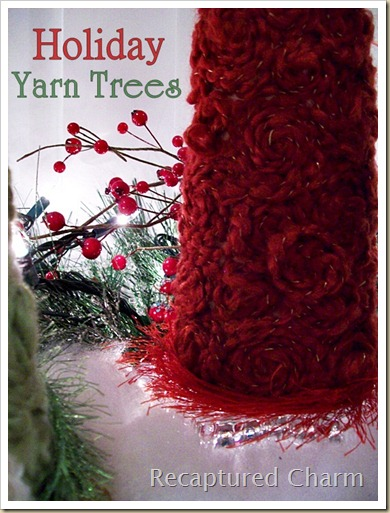 Holiday Yarn Trees