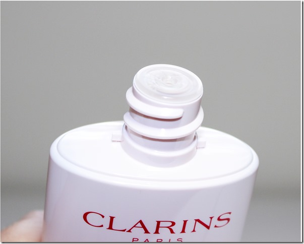 Clarins Gentle Renewing Brightening Peel opening