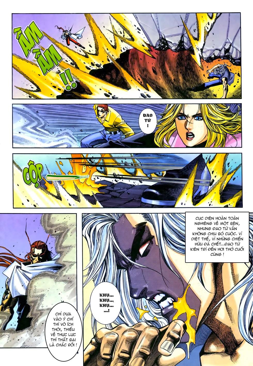 X Bạo Tộc chap 67 - Trang 14