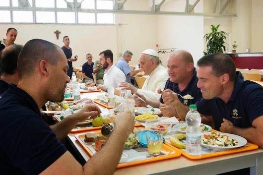 Cafeteria pope