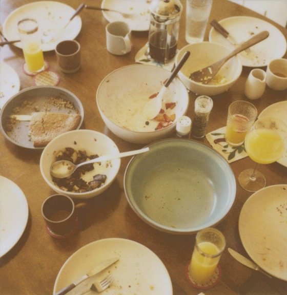 SUNDAY BRUNCH AFTERMATH