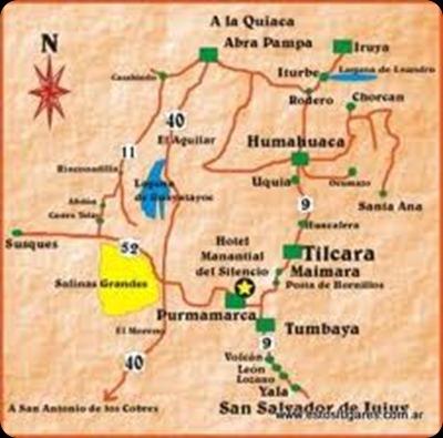 turismo religioso mapa