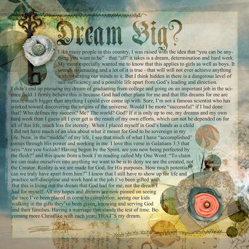 Dream Big Day 22