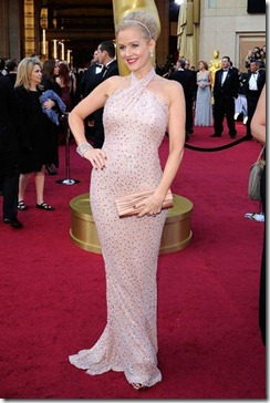 Penelope Ann Miller Badgley Mischka