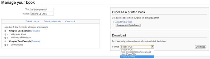 make wiki ebooks 2