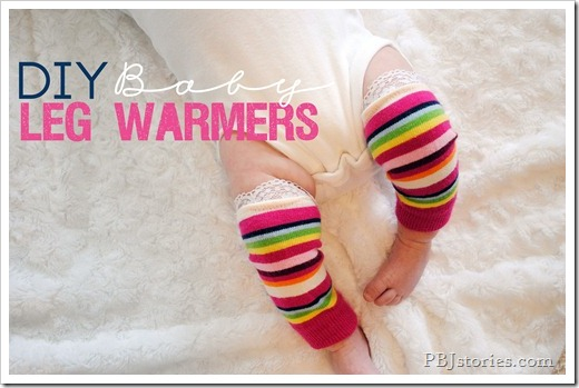 DIY Baby Leg Warmers on PBJstories