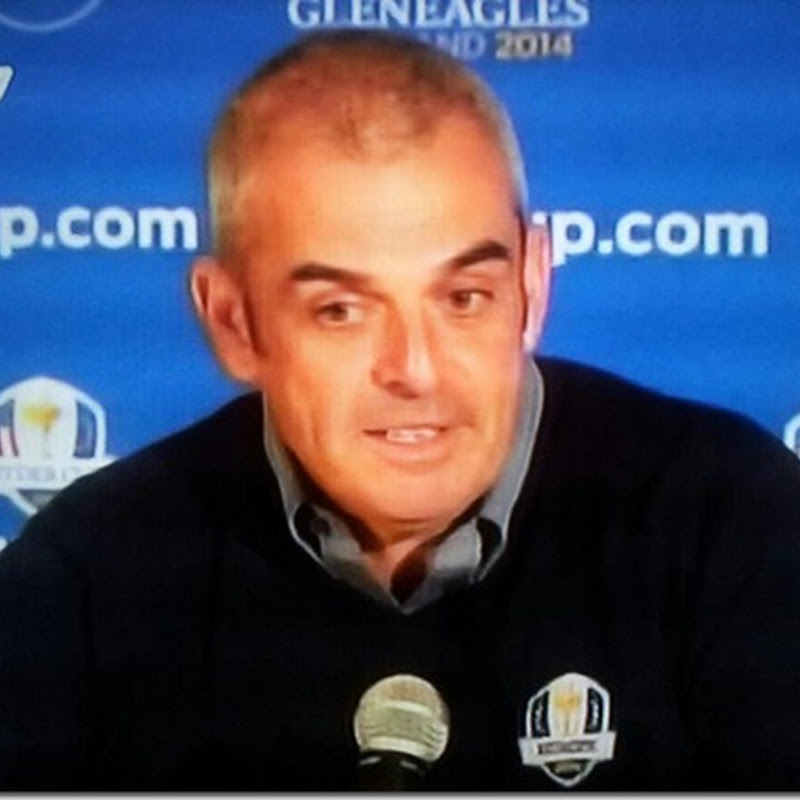 Paul McGinley is The 2014 European Ryder Cup Captain! Justice Has Been Done.