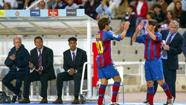 Así fue el debut de Messi con el Barza hace 10 años
