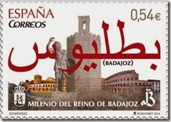 sello milenio Badajoz