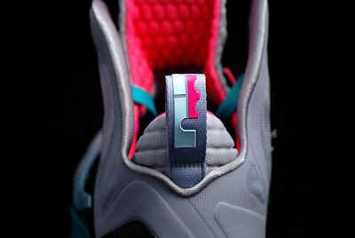nike lebron 9 ps elite grey candy pink 8 07 Release Reminder: Nike LeBron 9 P.S. Elite Miami Vice