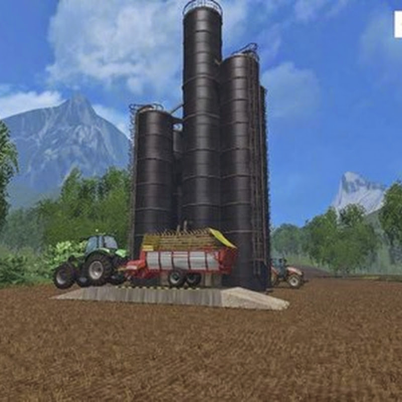 Farming simulator 2015 - Silage Silo v 1.3
