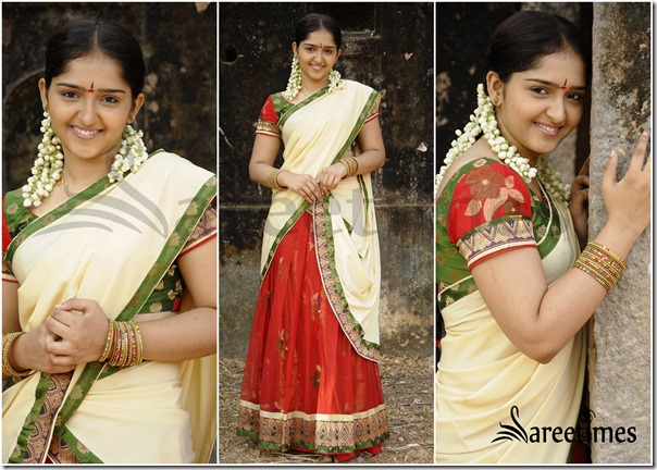 Sanusha_Half_Saree