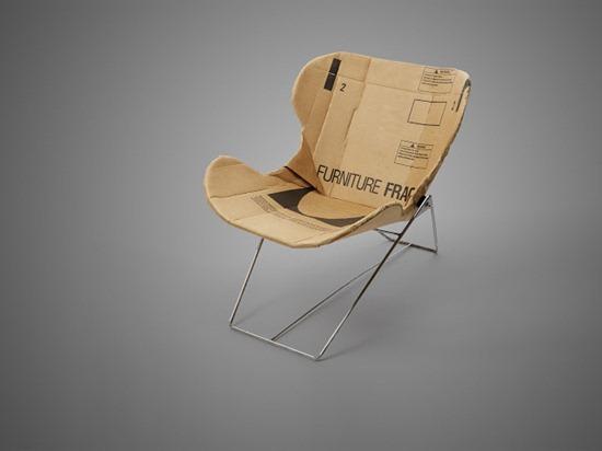 cadeira de papelão 01