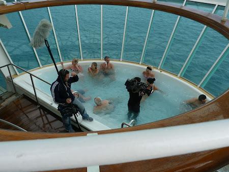 Jacuzzi pe vas de croaziera