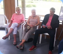 Members from NSOKC enjoying the occasion. Photo courtesy of Michael Bramley