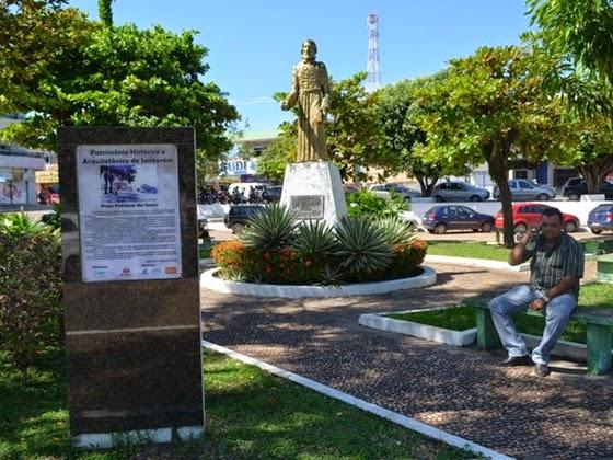 Praça Rodrigues dos Santos, Santarém - Parà