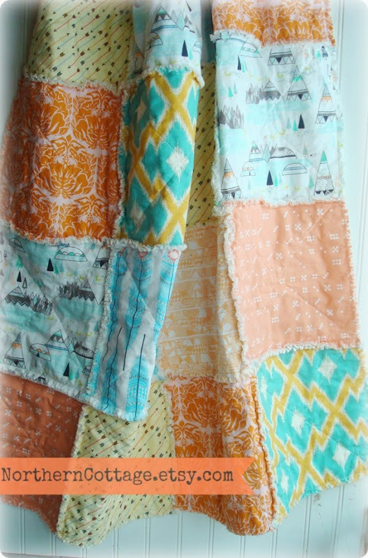 Baby Quilt {NorthernCottage}