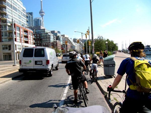 Queens Quay Toronto Bicycles