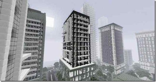 Chrome-pack-Minecraft-edifici
